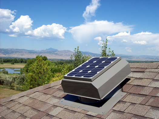 Attic Breeze solar attic fans help you save electricty and money on your cooling bills!